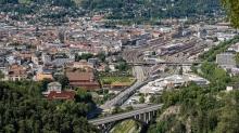 Hauptbahnhof Innsbruck, Tirol, Austria