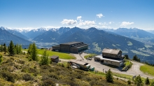 Patscherkofel Bergstation und Schutzhaus, Innsbruck, Tirol, Austria