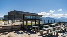 Terrasse Patscherkofel Schutzhaus, Innsbruck, Tirol, Austria