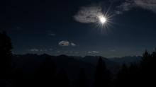 Föhnwolken, Sonne / Patscherkofel, Tirol, Austria