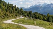 Weg auf den Patscherkofel, Patsch, Tirol, Austria
