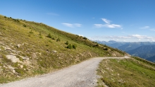 Gipfelweg Patscherkofel, Tirol, Austria