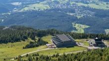 Patscherkofelbahn Bergstation und Schutzhaus, Patscherkofel, Tirol, Austria