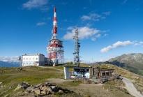 ORS Sendeanlage, Patscherkofel Gipfelstube, Tirol, Austria
