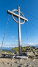 Gipfelkreuz Patscherkofel, Tirol, Austria