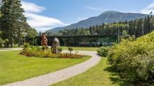 Kurpark Igls, Innsbruck, Tirol, Austria