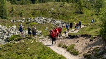 Bergung eines Verunglückten / Bergrettung / Tirol, Austria