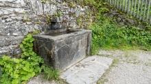 Brunnen, Wallfahrtskirche Heiligwasser, Patscherkofel, Igls, Innsbruck, Tirol, Austria