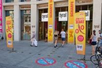 Sommerschlussverkauf, Ausverkauf / Kaufhaus Tyrol, Innsbruck