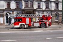 Berufsfeuerwehr Innsbruck im Einsatz / Feuerwehr