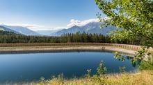 Speichersee Patscherkofel / Patsch, Tirol, Austria