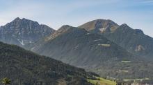 Nockspitze oder Saile, Tirol, Austria