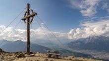 Patscherkofel Gipfelkreuz, Innsbruck, Tirol, Austria