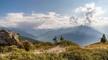 Wanderweg, Patscherkofel, Tirol, Austria