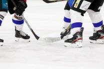 Eishockeyschuhe, Eishockeyschläger