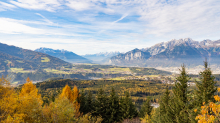 Inntal, Innsbruck, Tirol, Austria