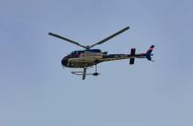 Hubschrauber, Polizeihubschrauber, Flugpolizei