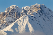 Brandjochspitze, Brandjochkreuz, Nordkette, Tirol, Austria