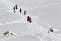 Tourengebiet Vorderer Grieskogel, Kühtai, Tirol, Austria