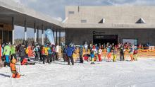 1. Skitag im harten Lockdown in Österreich