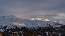 Morgenkogel, Tuxer Alpen, Tirol, Austria