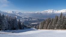 Olympiaabfahrt Patscherkofel, Tirol, Austria