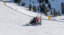 Skidoo, Snowmobil, Schneemobil