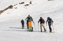 Skitourengeher / Patscherkofel, Tirol, Austria
