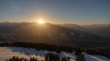 Sonnenuntergang am Patscherkofel, Tirol, Austria