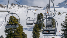 Skigebiet Glungezer, Tirol, Austria