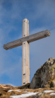 Gipfelkreuz Schartenkogel, Glungezer, Tirol, Austria