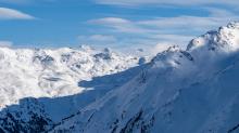 Tuxer Alpen im Winter / Tirol, Österreich