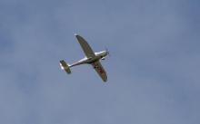 Sportflugzeug D-EPNE über Tirol, Österreich