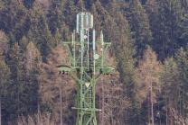 Mobilfunkmast in Igls, Innsbruck, Tirol, Österreich