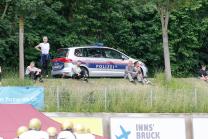 Polizei, Polizeiauto / Innsbruck, Tirol, Österreich