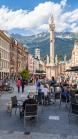 Maria-Theresien-Straße, Innsbruck, Tirol, Österreich
