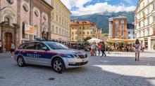 Polizeiauto / Maria-Theresien-Straße, Innsbruck, Tirol, Österreich