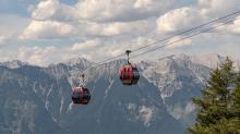 Patscherkofelbahn / Patscherkofel, Tirol, Österreich