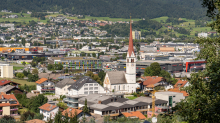 Pfarrkirche von Amras, Innsbruck, Tirol, Österreich