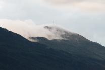 Patscherkofel im Nebel, Tirol, Österreich