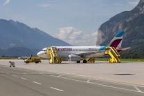 Eurowings Ferienflieger / Flughafen Innsbruck, Tirol, Österreich
