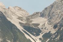 Arzler Scharte, Nordkette, Karwendel, Tirol, Österreich