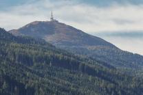 Gipfel Patscherkofel mit Sendeanlage, Tirol, Österreich