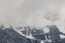 Wintereinbruch im Gebirge / Seegrube, Nordkette, Karwendel, Tirol, Österreich