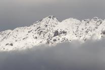 Wintereinbruch im Gebirge / Nordkette, Karwendel, Tirol, Österreich